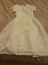 Lovely White Boohoo Summer Dress Size 12