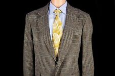 Vintage Pendleton Gray Wool Sport Coat 44L 100% Wool Jacket Two Button Blazer