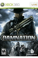 Damnation Xbox 360 Game Disc Only 34s