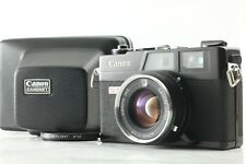 [Exc+5 w/ Case] Canon Canonet QL17 G-III BLACK 40mm f1.7 From Japan #a073