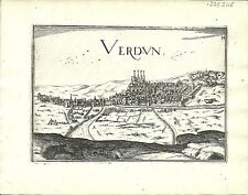 Carte antique, Verdun