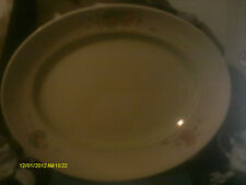 Art Deco Oval Platter Clarice Cliff Newport Pottery Pattern No. 7079(rd 748856)