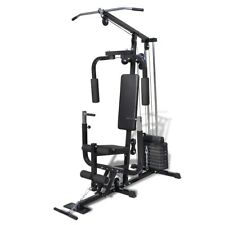 Multi Station Fitness Home Gym Bench Press Weight Workout Equipment Weightlift
