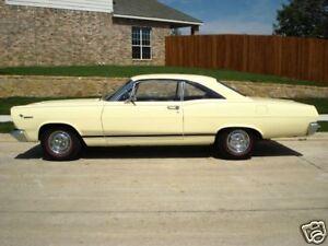 1966 1967 MERCURY COMET CYCLONE GT ROCKER STRIPE KIT