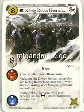 A Game of Thrones LCG - 1x König Robbs Heerschar  #001 - Krieg der Fünf Könige