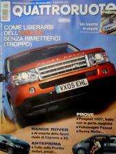 Quattroruote 596 2005 Prove Peugeot 1007, VW Passat, nuova Matiz. La Punto [Q85]