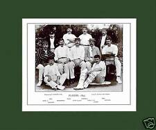 MOUNTED CRICKET TEAM PRINT - PLAYERS - 1895