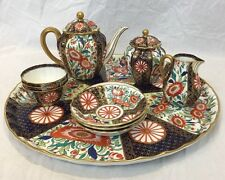 Fine Royal Worcester Porcelain Tea Service 1881