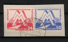 DDR 282 - 283, 1951, Briefstueck gestempelt #a166