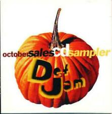 October Sales CD Sampler By Def Jam PROMO w/ Art MUSIC AUDIO LL Cool J Richie