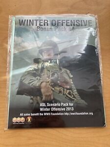 ASL Winter Offensive 2013 Bonus Pack Advanced Squad Leader MMP Fast Ship