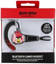 Angry Birds Wireless Headset Sony PlayStation 3 Bluetooth Gamer Ps3 Black