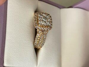 michael hill 10k gold ring