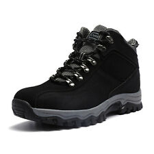 Men's Autumn Outdoor High-top Hiking Shoes-comfortable Non-slip Travel Shoes