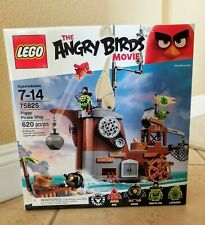 LEGO 75825 The Angry Birds Movie Piggy Pirate Ship 620 Pieces Sealed New in Box