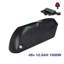 48V 12.5AH 1000W Black TIGER SHARK Li-oin Battery E-Bike Samsung Cells