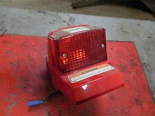 yamaha riva 125 XC125 red stop brake tail light lamp 1997 1998 1999 2000 2001