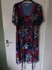 Ladies Colour Floral Dress 18