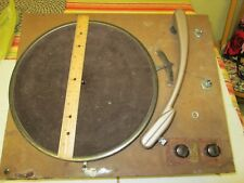 Vintage Transcription Disc turntable record player.