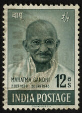 Handstamped Indian Used Asian Stamps