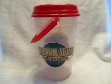 Universal Studios Florida Islands of Adventure Popcorn Bucket w Lid and Handle