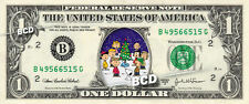 CHARLIE BROWN Christmas on a REAL Dollar Bill Cash Money Collectible Memorabilia