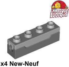 Lego - 4x Lance Missile Spring Shooter gris foncé/dark bluish gray 15301c01 NEUF