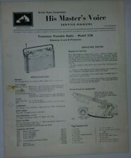 His Master's Voice Service Manual Model 2128