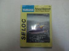 1992-97 SELOC Yamaha All Models Personal Watercraft Repair Manual 9602