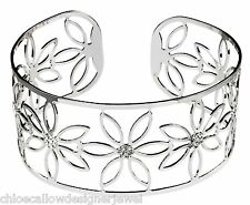 Fiore 925 Sterling Silver CZ Set Braccialetto Bracciale donna gioielli regalo