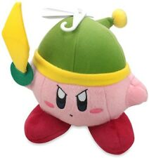"Little Buddy Kirby Adventure Kirby 6"" Sword Plush"