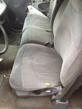 1999 Ford F - 150 Pick Up Truck 60 / 40 SPLIT BENCH SEAT Grey Gray Cloth Manual