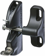Stanley  Stainless Steel  Automatic  Gate Latch  Black