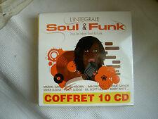 COFFRET de 10 CD - INTEGRAL COLLECTION  SOUL & FUNK - LM Music 2010