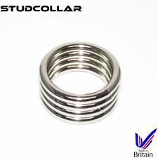 STUDCOLLAR-SUPERMAX4 - Metal Penis Erection/Enhancing Collars - 1 Per Order