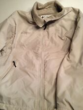 COLUMBIA SPORTSWEAR Womens Jacket Coat Large Medium weight Fleece-lined