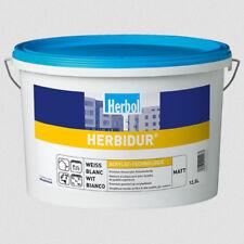 Herbol Herbidur matt weiß Fassadenfarbe 12,5L - Reinacrylat,Langzeitwettersch. -