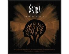 GOJIRA - L'enfant sauvage 2012    - WOVEN SEW ON PATCH - free shipping