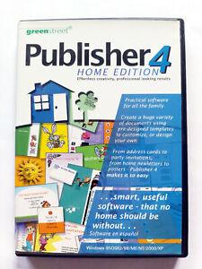 Greenstreet Publisher 4 Home Edition - Desktop Publishing Design Software (PC)