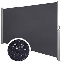 Seitenmarkise Windschutz Sichtschutz Sonnenschutz Terrasse Markise 1,6x3m Alu
