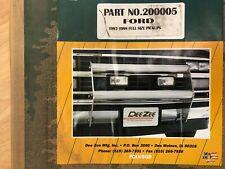 Dee Zee Bumper Protector Ultrashine Grill Bar NIB Ford F250 F350 1997 1998