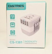 Castries Universal Travel Adapter International Power Adapter Model Cs-309
