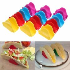 12X Taco Proper Mexican Taco Holders Plastic Stand Display Tray Dishwasher Safe