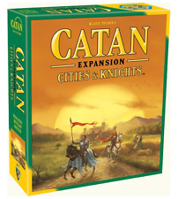 NEW CATAN CITIES & KNIGHTS EXPANSION DAILY 3-4 PLAYERS FAMILY TOY COMPETITIVE