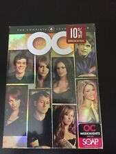 The O.C. - The Complete Fourth Season (DVD, 2007, 5-Disc Set) Brand New A4