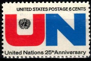 USA 1970 Sc1419 1v mnh United Nations, 25th Anniv.