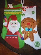 Christmas Stockings Set Of 2 For Couple Or Kids Brand New With Tags