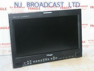 TV logic 3G / HD LVM173W 17inch monitor    NOTE sold for parts only, is missing