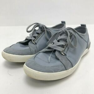 Calvin Klein Women's Size UK 4 Blue Shoes Trainers Lace Up Casual 161097