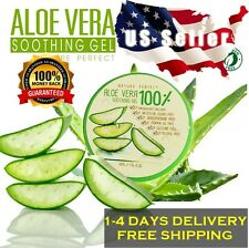 ❤️ US SELLER NATURE PERFECT Soothing Moisture ALOE VERA 100% Soothing Gel 1.7oz